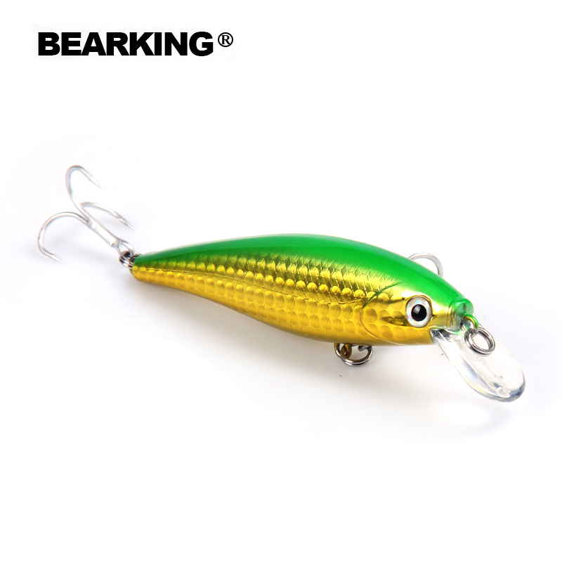 7.8cm 9.2g Bearking New 1PC New Arrival Hot Sale Minnow Hard Fishing Lure Bait Fresh Water Fishing Tackle Artificial Lures Bait 2017 bearking fishing tackle hot model new fishing lures hard bait minnow 4mixed colors pencil bait 11cm 12g sinking
