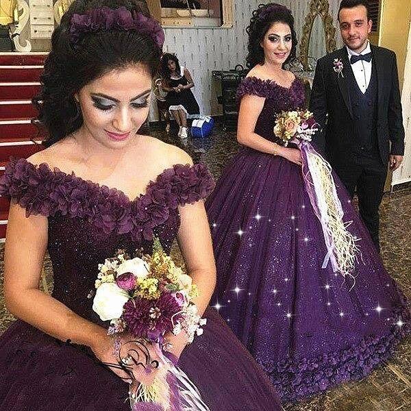 Vestido de festa New Design 2018 Summer Cap Sleeve Floor Length Beaded Lace Purple   Evening     Dress   Formal Gowns