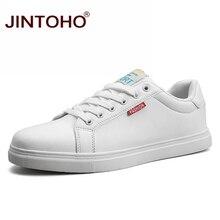 JINTOHO/Лидер продаж; мужские кроссовки; обувь для скейтбординга на шнуровке; Цвет белый; Мужская обувь для отдыха; дешевая спортивная уличная прогулочная обувь