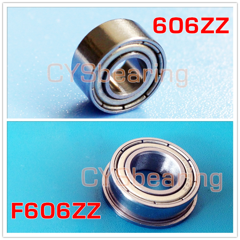 F6805ZZ Flanged Bearing Shielded Chrome Steel 25x37x7