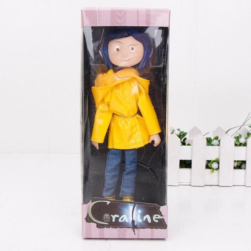 18cm Coraline The Secret Door Coraline Mother Mom Raincoat Pvc Action Figure Model Toys Action Toy Figures Aliexpress