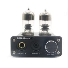 ZHILAI D1 Наушники HIFI Ламповый усилитель Предусилителя USB Звуковой Чип Усилитель Мощности 7022 16bit/24bit