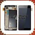 100% novo testado lcd para nokia lumia 950 screen display com digitador touch + quadro assembléia negro cor frete grátis