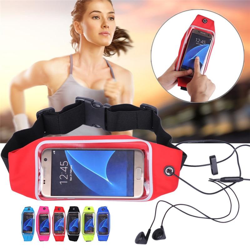 Pro Samsung Galaxy J5 Prime A5 2017 Pouzdro Sport Běh Pouch Pack Taška pro iPhone 5s 5 6s 7 Pouzdro Kryt pasu Venkovní kapsa