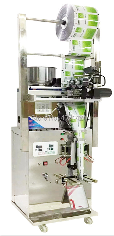 SMFZ-70D 3 side seal with date printer with photocell automatic weighing machine, bag packing machine,
