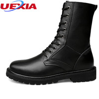 UEXIA New Arrival High Top Boots Wit Fur Casual Shoes Man For Winter Warm Comfortable Men