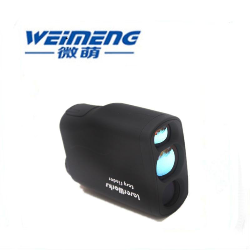 Weimeng brand civilian telescopes 6X laser rangefinder 600M laser distance meter Handheld Monocular rangefinder waterproof in Optical Filters from Tools