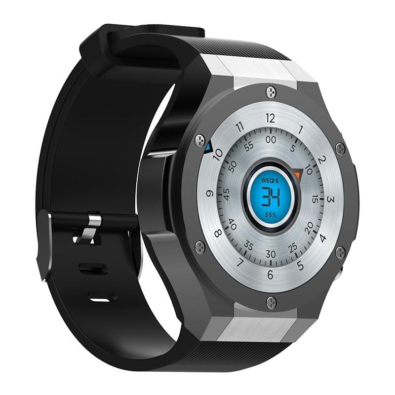 696 H2 3G Telefono Smartwatch 1.39 pollice MTK6580 Quad Core 16 GB di ROM 2.0MP Cam Monitor di Frequenza Cardiaca Pedometro GPS Intelligente orologio