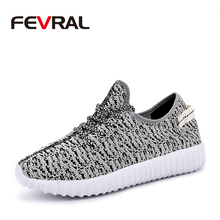 FEVRAL Summer Hot Sale Breathable Comfort Casual Shoes For Men Women Fashion Couple Sneakers Lace Up