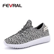 FEVRAL yaz sıcak satış nefes konfor rahat ayakkabılar erkekler kadınlar için moda çift ayakkabı Lace Up kamuflaj renk ayakkabı