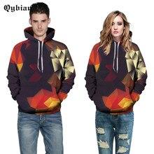 2017 Qybian Farbe Tetris Druck Hoodies Männer Hip Hop Sportbekleidung Hoody Sweatshirt Skateboard Pullover Hoodie Mann Marke Kleidung