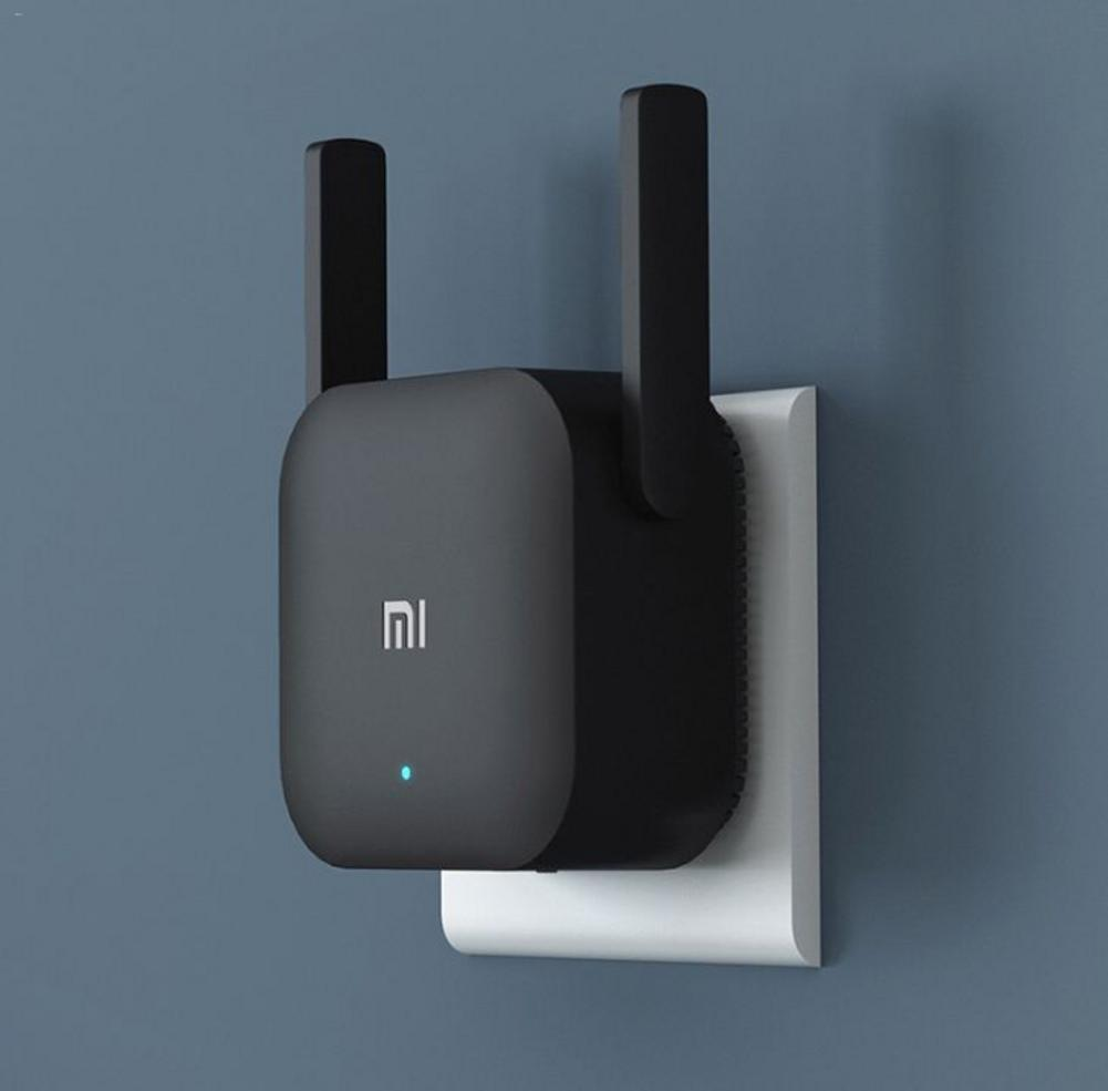 Original 300M Xiaomi WiFi Amplifier Pro Router Network Expander Repeater Power Extender Roteador 2 Antenna For Mi Router Wi-Fi