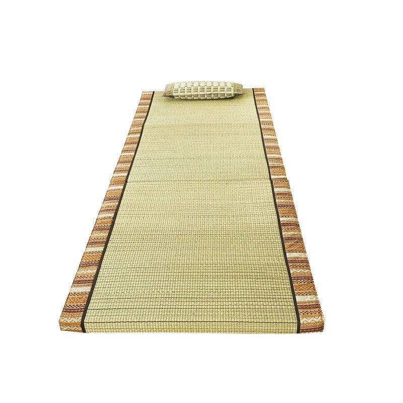 Tapis pliant en Tatami de paille Rectangle tapis de grande taille tapis Judo japonais Futon Tatami tapis pliable en paille pour dormir - 2