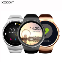 XGODY KW18 Sports Fitness Bracelet Waterproof Supports TF SIM Card Heart Rate Monitor Wrist Band Watch Smart Clock Android IOS