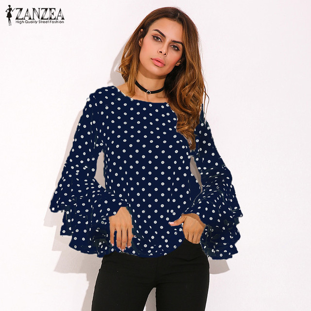 Selected Dotted - Long Sleeved Shirt Women Clearance How Much Sale Recommend ngdeNsbc