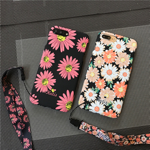 Для iPhone 6 6 s/6 S Plus, Daisy 360 полный спектр защиты спереди + задняя крышка Coque для iPhone 7 7 плюс цветы цветочный чехол