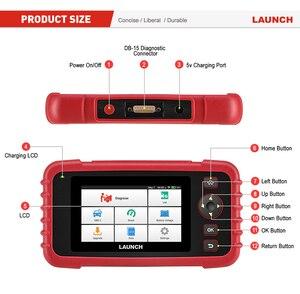 Image 5 - LANCIO X431 CRP129X OBD2 Lettore di codice automatico Scanner OBD Strumento diagnostico Auto ENG IN ABS Olio SRS SAS TMPS Strumento automobilistico PK CRP129E