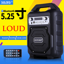 Wireless Portable PA Speaker System - 400W High Powered Bluetooth Compatible Active + Outdoor Sound Speakers W/USB SD MP3 AUX oupushi ks812b wifi ceiling speakers active horn wall speakers trumpetto home theater pa system family background music system