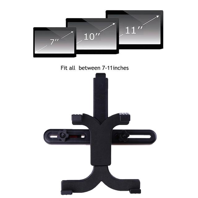 """Tendway Tablet uchwyt samochodowy stojak dla Ipad 2/3/4 Air Pro Mini 7-11 """"uniwersalny 360 obrót wspornik tylnym siedzeniu samochodu do montażu na Handrest PC"""