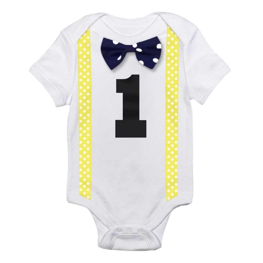 fe876babb2fe Detail Feedback Questions about Summer Baby Boy Gentleman Romper ...