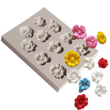 Flower Fondant Moulds 126