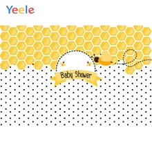 Yeele Yellow Wasp Dots Newborn Baby Show Portrait Photography Backgrounds Customized Photographic Backdrops For Photo Studio