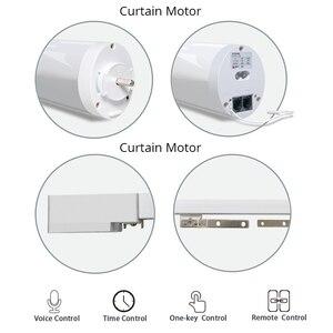 Image 2 - Wifi Smart Automatische Gordijn Motor Track System Gemotoriseerde Smart Leven App Afstandsbediening Werkt Met Amazon Alexa Echo Google Thuis