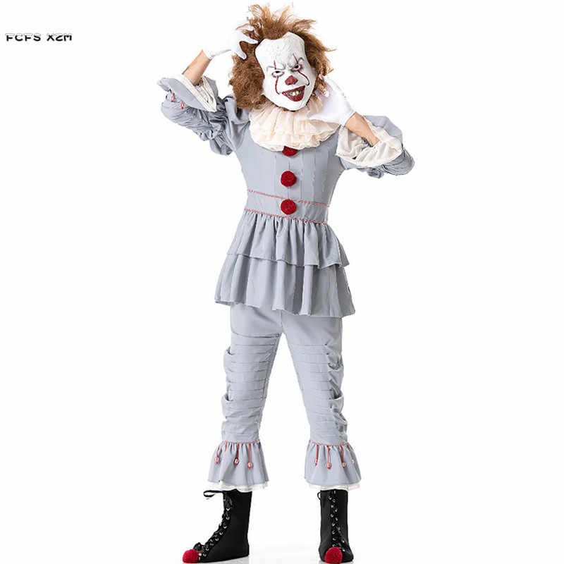 pennywise costume pennywise the clown costume pennywise 2017 it costume cosplay halloween costume child kids adult King IT pennywise shirt