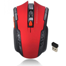цена на New 2.4Ghz Mini Portable Wireless Optical Gaming Mouse Mice Professional Gamer Mouse For PC Laptop Desktop