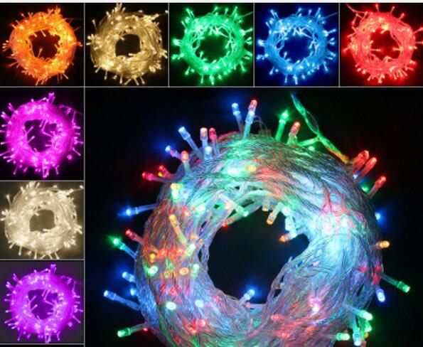 Led Light Strip 10m 100 LED Strängar 220V Vattentät LED Strip för Xmas Christmas Holiday Garden Dekorera för Party