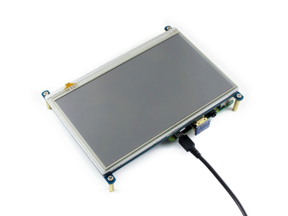 Waveshare 7inch HDMI LCD 1024 600 Resistive Touch Screen LCD HDMI Interface for all revisions of