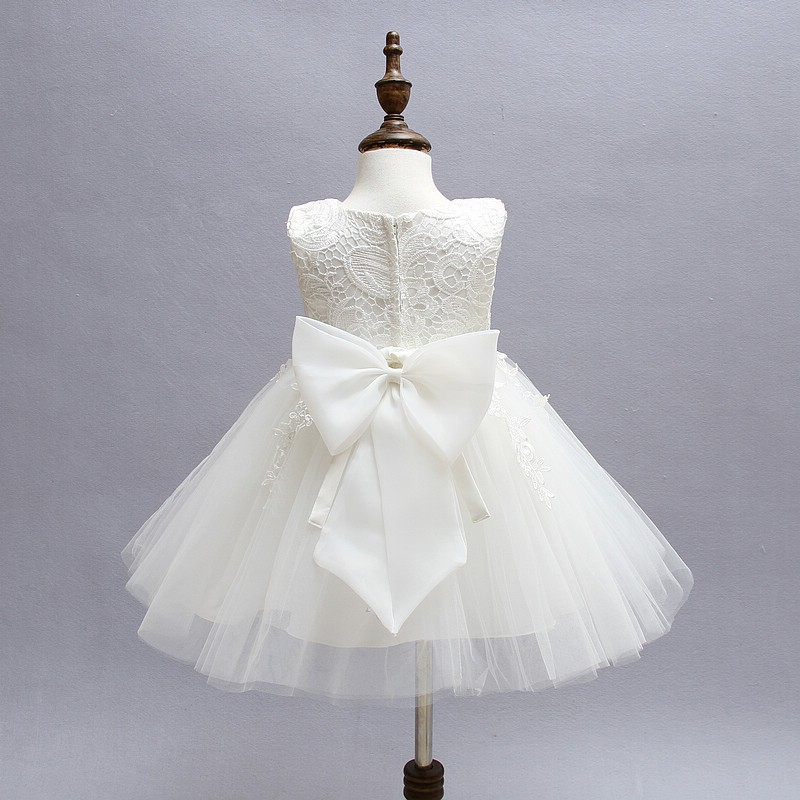 Ivory Tulle Lace Flower Girl Dress 2