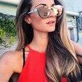 AFOFOO Модные Солнцезащитные Очки Luxury Brand Дизайнер Женщины Зеркало Солнцезащитные очки Дамы Овальные Старинные UV400 Оттенки Мужчины Женщины Очки