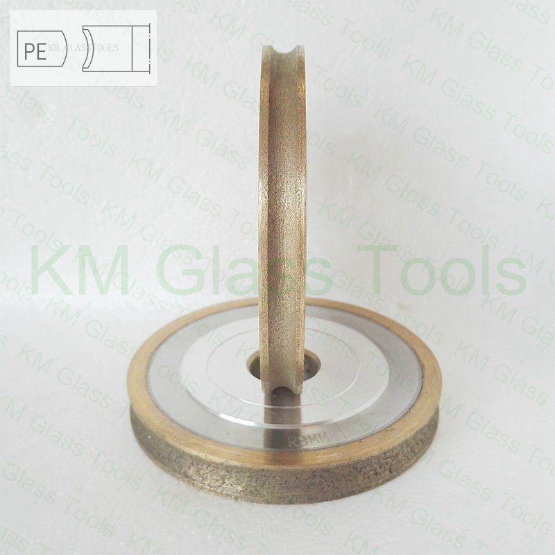 送料無料! キロ 100x22xPE3/4/5/6/8/10/12/15/19 ミリメートル鉛筆エッジペリフェラルダイアモンドホイール、ガラス研削盤。  グループ上の ツール からの 砥石 の中 2