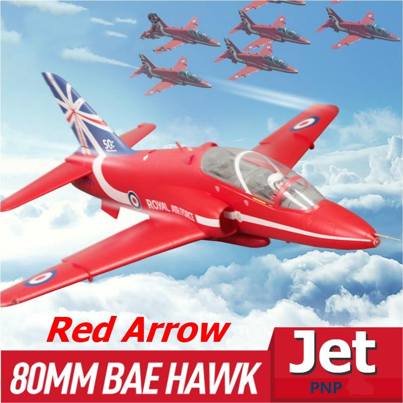 FMS RC avión Bae Hawk flecha roja 80mm acondicionado ventilador FED Jet 6CH 6S con solapas se retrae EPO avión Avion modelo de Hobby PNP Flysky FS-SM100 RC simulador de vuelo USB con Cable FMS controlador de helicóptero 2,4G