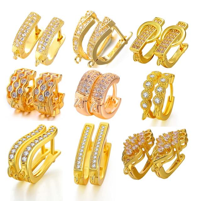 DIY Fine Jewelry Earring Hooks Material 5