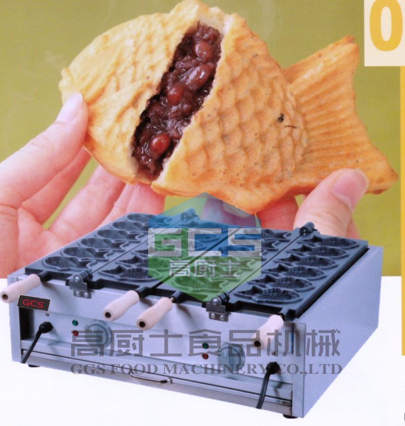 Free shipping 12 pcs fish Taiyaki waffle machine Non-stick Good quality 1000mg 100 pcs fish oil bottle for health capsules omega 3 dha epa with free shipping