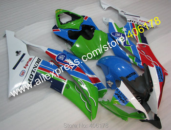 Yzf600 R6 08-16 Set For Yzf R6 2008-2016 Yzf-R6 Multi-color Motorcycle Fairing Kit (Injection molding)