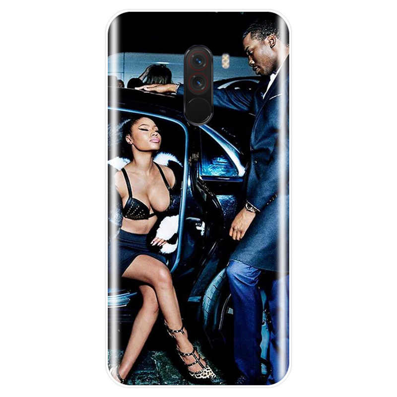 Nicki Minaj крышка чехол для телефона из мягкого силикона ТПУ с рисунком чехол для телефона для redmi версия 4, 5, 6, 7, обратите внимание на 4X 5A 5 6 для redmi 4 4A 4X 5A 5 PLUS 6 S pro 7