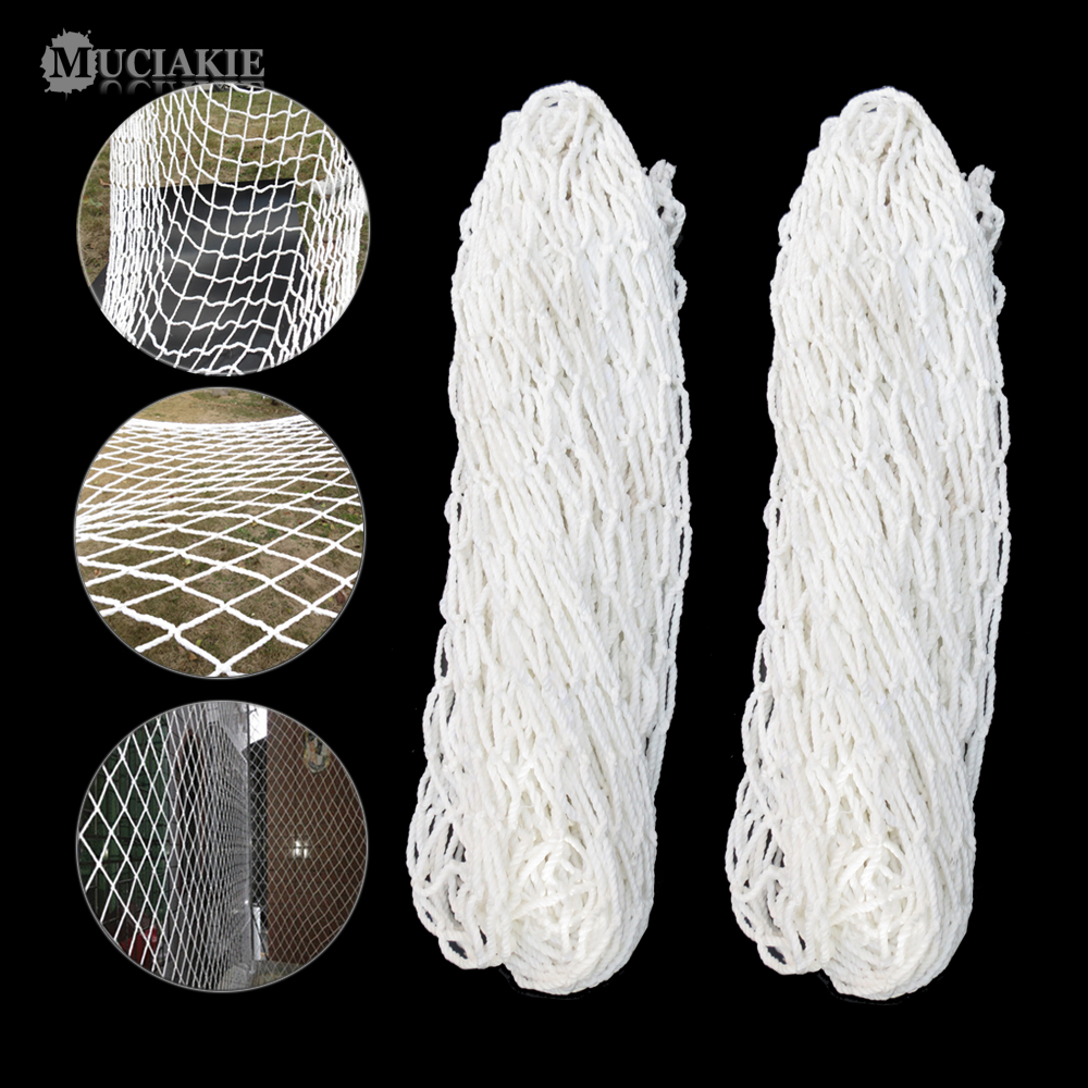 6MM Dia (5x5cm Space) White Square Net Heavy Duty Plant Trellis Netting Great For Climbing Heavy Giant Fruits Garden Netting