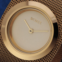 2015 new fashion 18k gold steel luxury bracelet women female clock casual top brand design wrist dress ladies watch gift 18