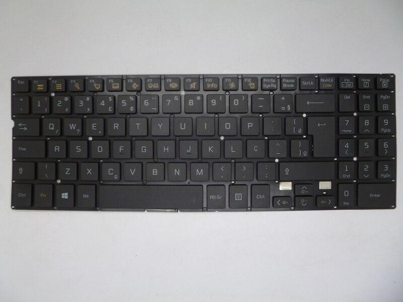 Laptop Keyboard For LG 15N540 Without Frame SN5840 BR Brazil SG-59030-2BA SG-59030-40A KR Korea SG-59030-XRA UK United Kingdom laptop keyboard for hp probook 4510s 4515s black without frame farsi sn5092 sg 33200 80a