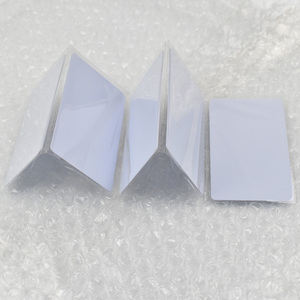 Image 1 - 1 unids/lote de etiquetas rfid EM4305, tarjeta en blanco, fina, tarjeta de pvc, lectura y escritura, RFID, 125KHz