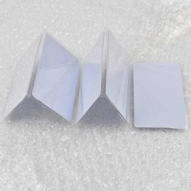 1 unids/lote de etiquetas rfid EM4305, tarjeta en blanco, fina, tarjeta de pvc, lectura y escritura, RFID, 125KHz