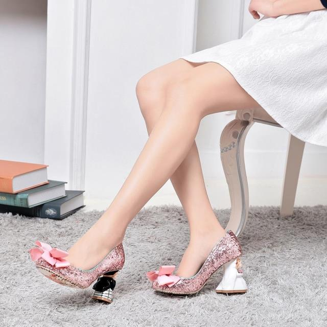 Butterfly-knot Cute Sweet Luxury Newest Fashion Women Shoes Cheap Price Hot Selling Retro Weeding Party shoes Ankle Appliques  newest fashion women shoes sandals luxury noble dress shoes cheap price ankle summer party shoes hot selling silver gold metal