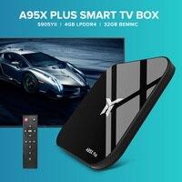 A95X PLUS TV Box S905YII 4K HD 4+32GB Android 8.1 Smart Media Player 64Bit BT4.2 2.4/5GHz WiFi USB flash drive for Set Top Box