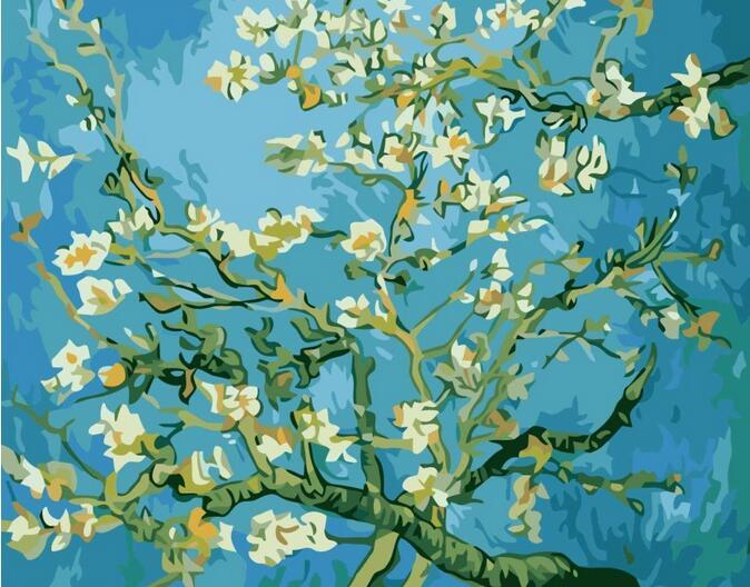 Pintura sem moldura by numbers diy pintura a óleo digital pintura da - Decoração de casa