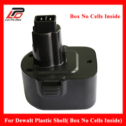 Rechargeable Battery case for Dewalt 12v NI-MH NI-CD Plastic Shell( Box No Cells Inside) DC9071 DE9037 DE9071 DE9074 DE9075