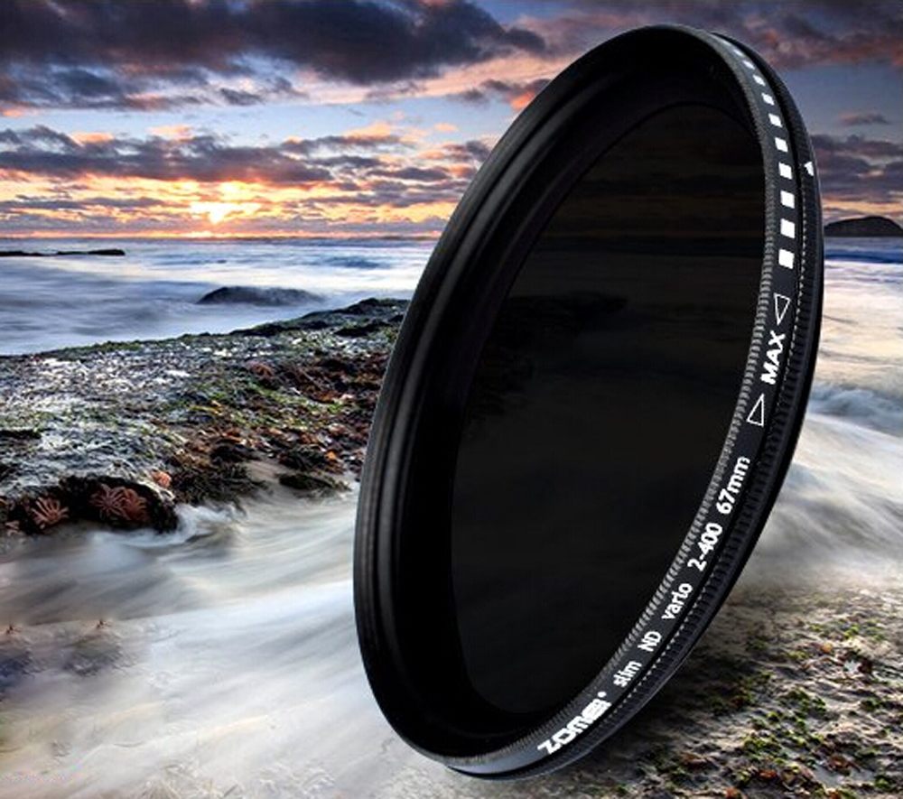 ND2 to ND400 ZoMei 52mm Fader ND Neutral Density Adjustable Variable Filter