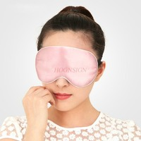 Double sided silk shading sleep eye mask Eye mask earplug anti noise three piece sleep enjoy